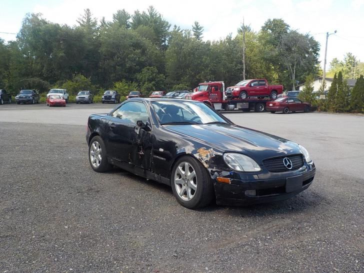 Salvage mercedes benz slk cars for sale and auction xf090184 for Salvage mercedes benz