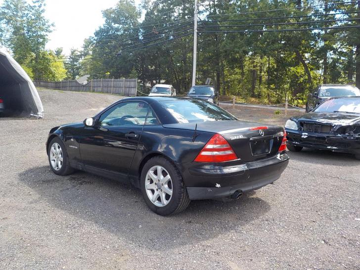 Salvage Mercedes Benz Slk Cars For Sale And Auction Xf090184