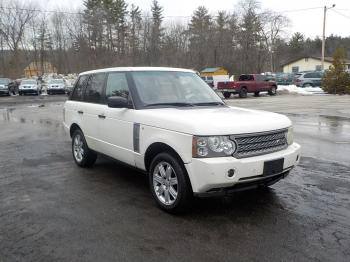 Salvage Land Rover Range Rover