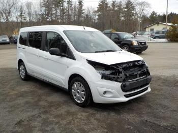 Salvage Ford Transit Connect Wagon
